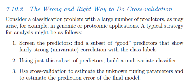 "From 'The Elements of Statistical Learning"", p. 245"