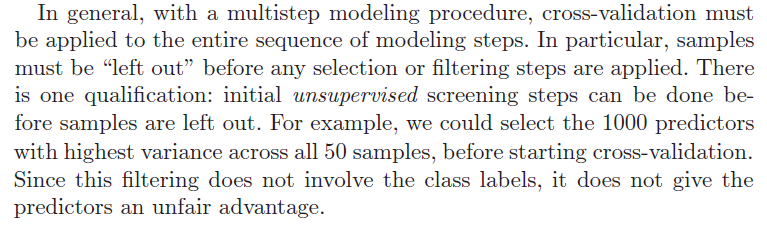 From The Elements of Statistical Learning, pp. 246-247