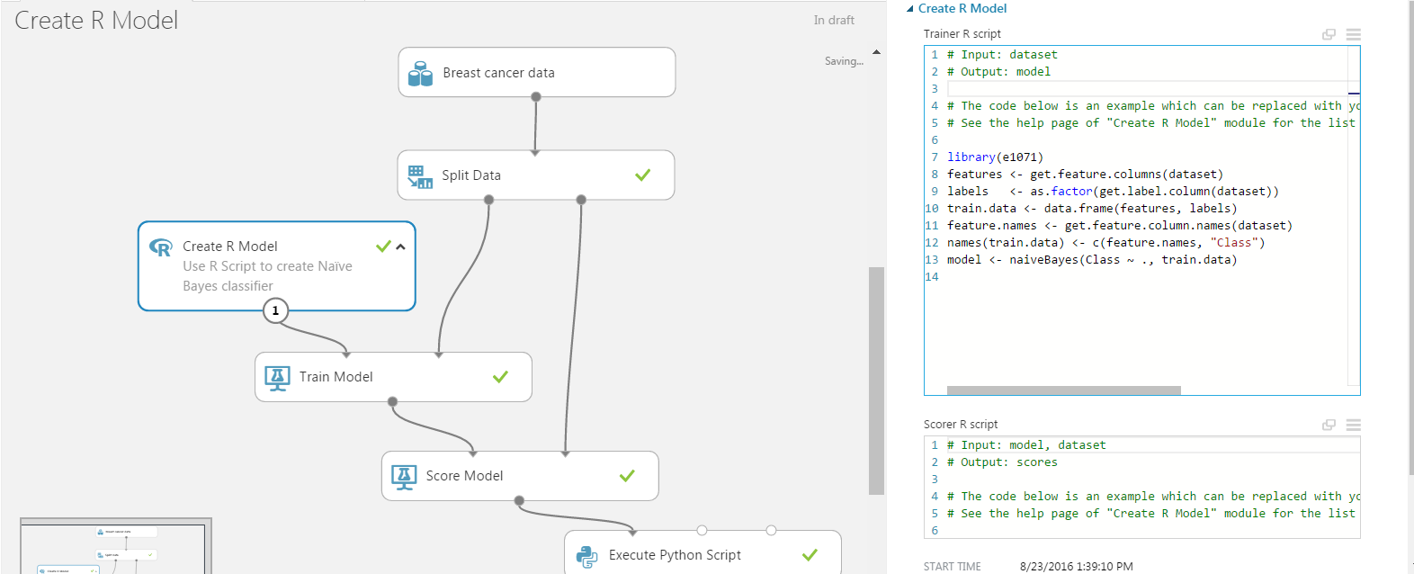 How to evaluate R models in Azure Machine Learning Studio | R-bloggers
